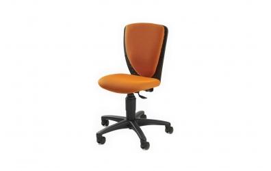 Detská stolička APOLENA - oranžová