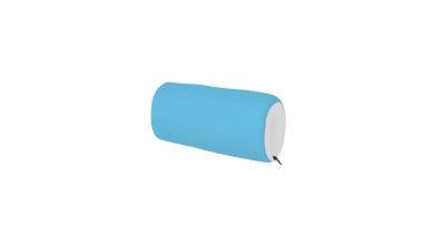 Textilný chránič krátky tyrkysovo/biely