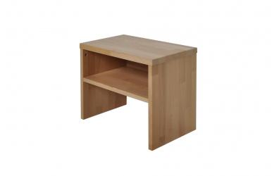 Nočný stolík 1 s policou buk cink