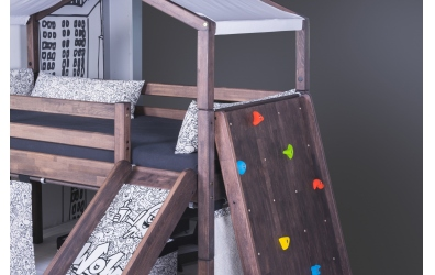 Textília strieška na domček - pastel mentolová