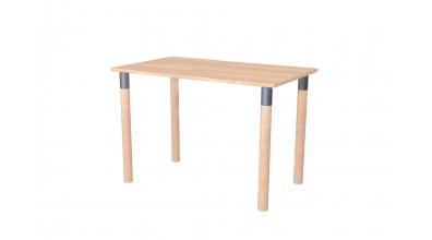 Písací stôl MINI, buk cink