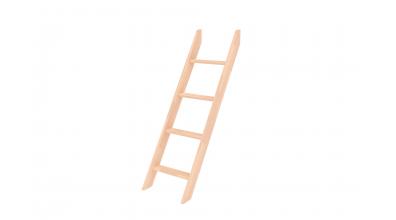 Rebrík k palande nízkej  šikmý buk cink