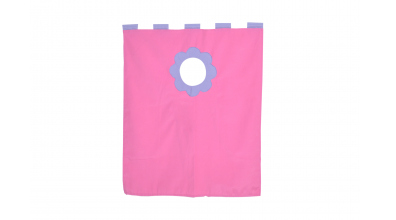 Závesná textília palanda nízka - ružová