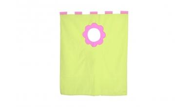 Textília 7 kvetinka - palanda nízká 1610 mm ružovo/zelená
