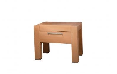 Nočný stolík MANON buk cink