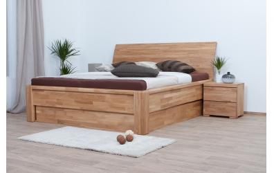 Nočný stolík SOFIA & FLORENCIA 2 zásuvkový dub cink
