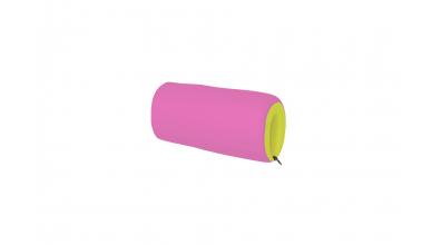 Textilný chránič krátky zeleno/ružový