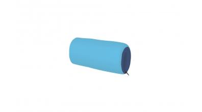 Textilný chránič krátky tyrkysovo/modrý