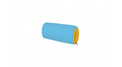 Textilný chránič krátky žlto/tyrkysový
