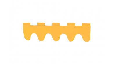 Textília Vlnky - oranžová