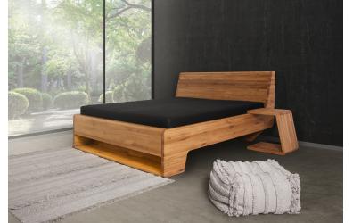 Nočný stolík KUPÉ, divoký dub