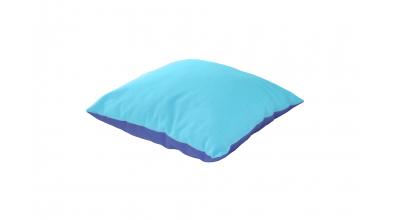 Vankúš štvorec - tyrkysovo modrý