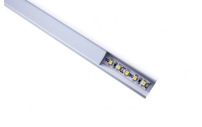 LED osvetlenie čela postele 90cm - teplá biela