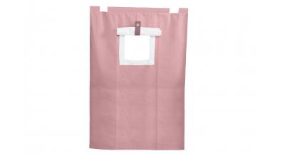 Závesná textília PASTEL palanda -ružová