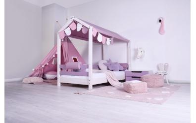 Textília na domček 2 - pastel ružová