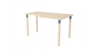 Písací stôl ERGO maxi pravý smrek