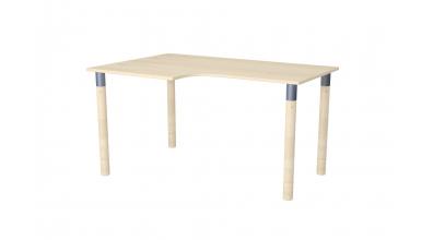 Písací stôl ERGO maxi ľavý smrek