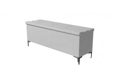 Čalúnený taburet CLAUDIA prešívaný 140 cm, MATERASSO