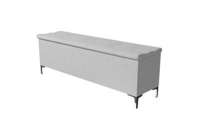 Čalúnený taburet CLAUDIA prešívaný 160 cm, MATERASSO
