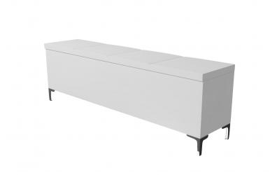 Čalúnený taburet Gemini prešívaný 180 cm, MATERASSO