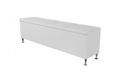 Čalouněný taburet Vega prošívaný 180 cm, MATERASSO