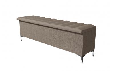 Čalúnený taburet BELLATRIX prešívaný 180 cm, MATERASSO