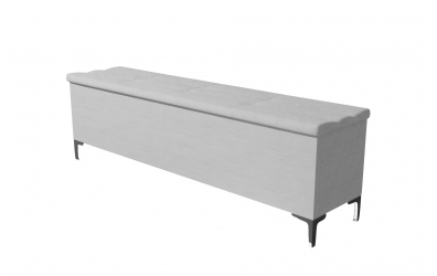 Čalúnený taburet CLAUDIA prešívaný 180 cm, MATERASSO