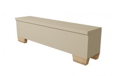 Čalouněný taburet Argentina 200 cm, MATERASSO
