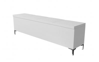 Čalúnený taburet Gemini prešívaný 200 cm, MATERASSO