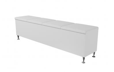 Čalouněný taburet Vega prošívaný 200 cm, MATERASSO