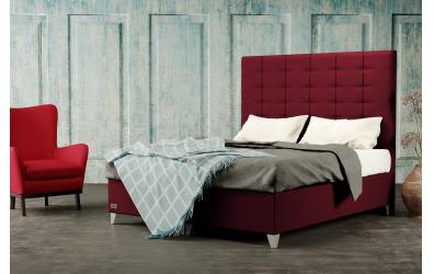 Čalúnená posteľ boxspring WILD 120x200, MATERASSO