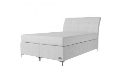 Čalúnená posteľ boxspring CLAUDIA 140x200, MATERASSO