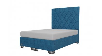 Čalúnená posteľ boxspring RHOMBUS 140x200, MATERASSO