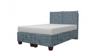 Čalúnená posteľ boxspring KINGSTONE 140x200, MATERASSO