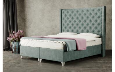Čalúnená posteľ boxspring VIENNA 140x200, MATERASSO