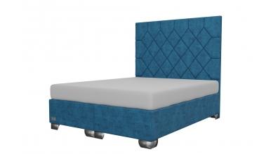 Čalúnená posteľ boxspring RHOMBUS 160x200, MATERASSO