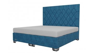 Čalúnená posteľ boxspring RHOMBUS 200x200, MATERASSO