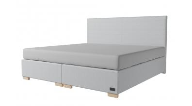 Čalúnená posteľ boxspring NOBILIA 200x200, MATERASSO