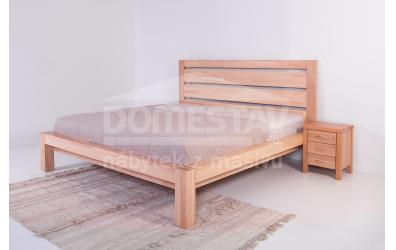 Manželská posteľ ELEGANT Klára New 160 cm, buk cink