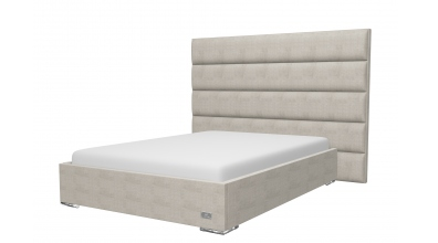 Čalúnená posteľ Horizontal, 200x200, MATERASSO