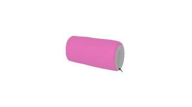 Textilný chránič krátky ružovo/šedý