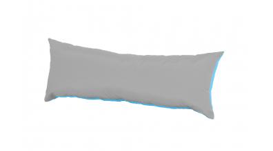 Vankúš obdĺžnik - tyrkysovo šedý