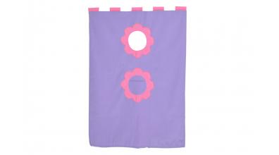 Závesná textília palanda - fialová