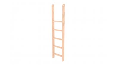 Rebrík k palande zvislý s otvormi, buk cink