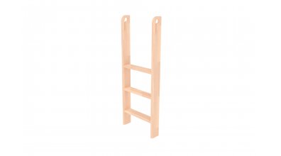 Rebrík k zvýšenému jednolôžku, zvislý s otvormi, buk cink