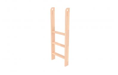 Rebrík k zvýšenému jednolôžku  zvislý s otvormi buk cink