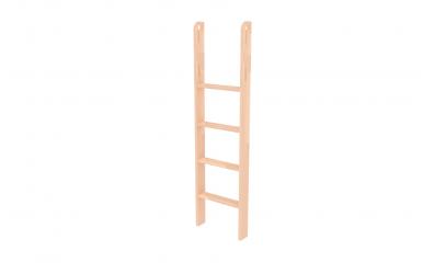 Rebrík k palande nízkej  zvislý s otvormi buk cink