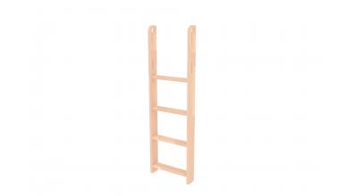 Rebrík k palande nízkej  na bočnici s otvormi buk cink