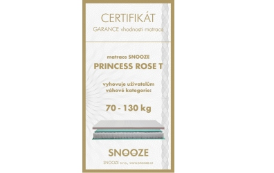 Matrace PRINCES Rose 90x200