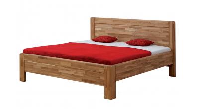 Manželská posteľ ADRIANA Family,180x200, buk jadrový
